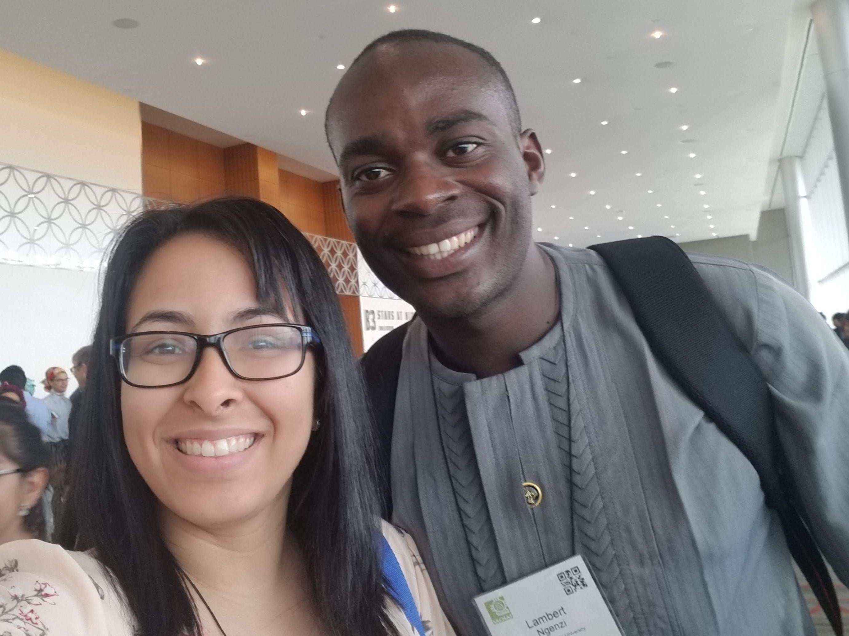 SACNAS2018 with Lambert Ngenzi